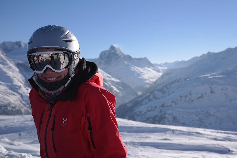 niet ziek op wintersport